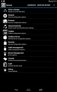 KioWare for Android Kiosk App - screenshot thumbnail