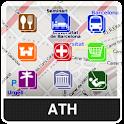 Athens NOMADA Maps logo