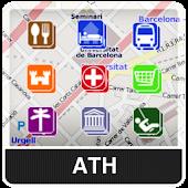 Athens NOMADA Maps