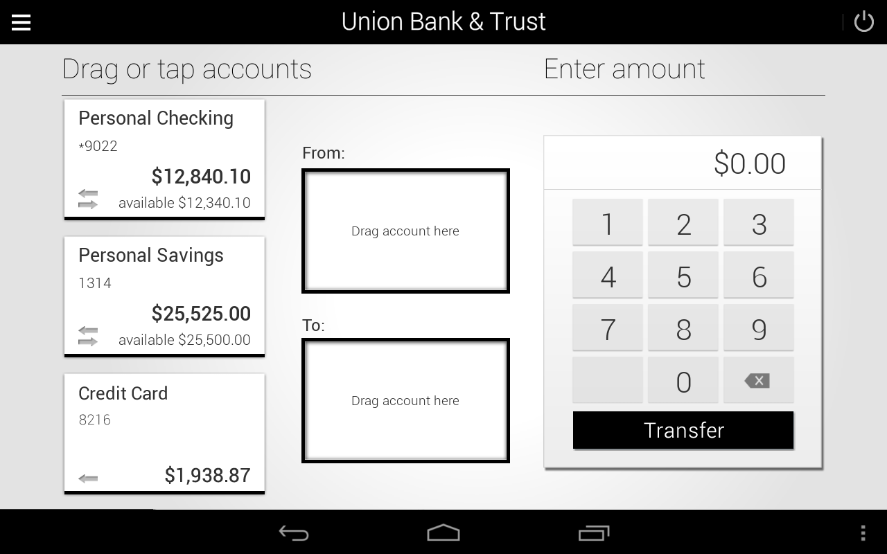 Union Bank & Trust - screenshot