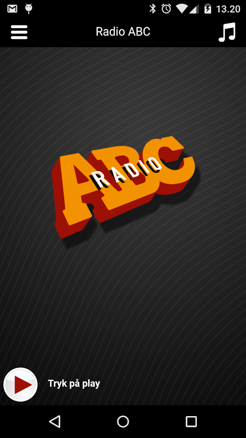 Radio ABC- screenshot