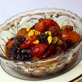 Really, Truly Gorgeous Dried Fruit Salad.