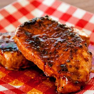 Pork Chop in Sweet Sauce.