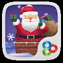 Cuddly Santa GO Launcher Theme icon