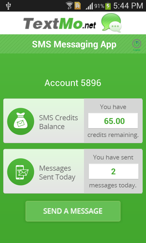 TextMo SMS- screenshot