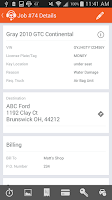 Screenshot of Dispatch Anywhere for Drivers