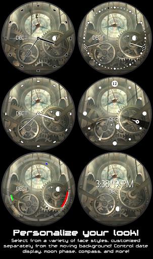 Clock Tower 3D Watch Face