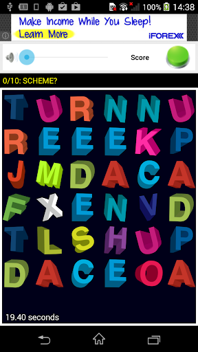 Find Words. Word Search.