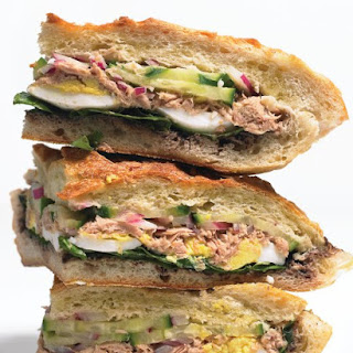 Tuna Nicoise Sandwich