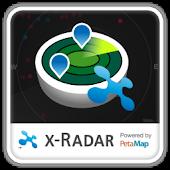 x-Radar Powered by PetaMap APK for Blackberry
