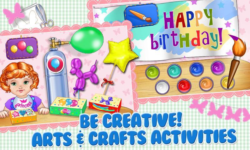 Baby Birthday Party Planner - screenshot