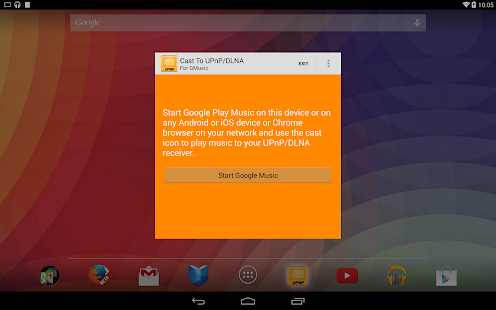 Cast To UPnP/DLNA for GMusic - screenshot thumbnail