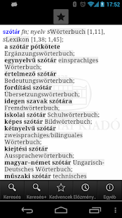 Hungarian-German Dictionary L- screenshot thumbnail
