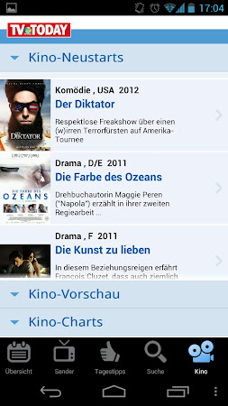 TV Today - TV Programm 1.5.2 screenshot 334452