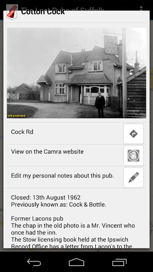 The Lost Pubs of Suffolk- screenshot