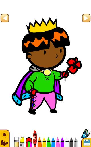 王子着色学习
