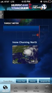 Hurricane Tracker WYFF 4 - screenshot thumbnail