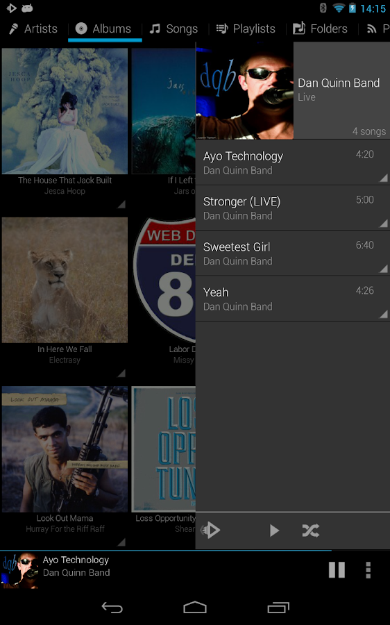Rocket Music Player - screenshot