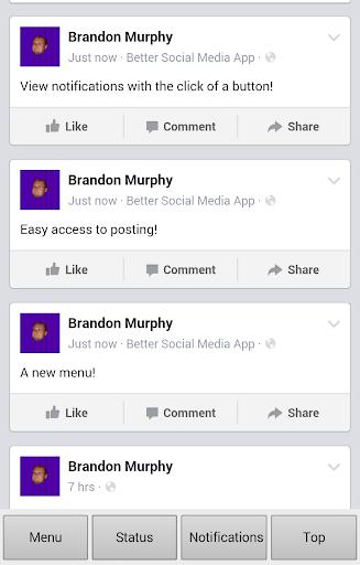 Better Social Media App