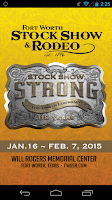 Screenshot of Fort Worth Stock Show & Rodeo
