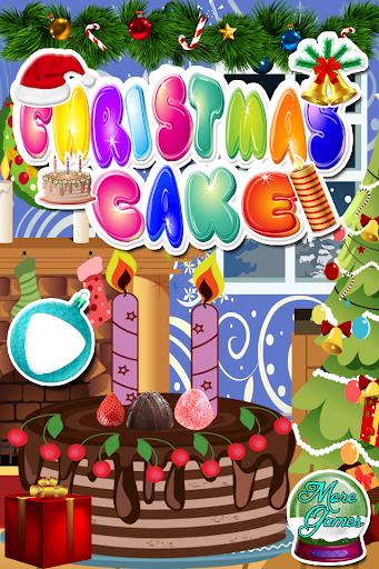 蛋糕製作的聖誕遊戲