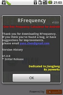 RFrequency - RF Helper - screenshot thumbnail