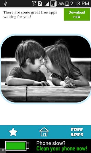 صور اطفال رومانسية جميلة