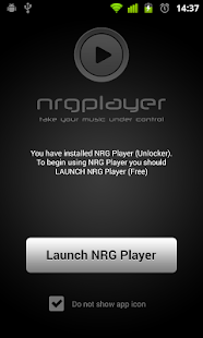 NRGPlayer Unlocker - screenshot thumbnail