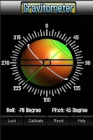 Screenshot of Gravitometer