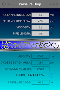 Hydraulic Calculator - screenshot thumbnail