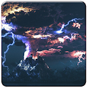 Thunderstorm live wallpapers icon