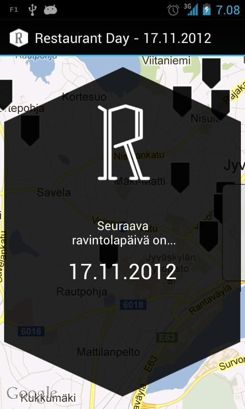 RestaurantDay - screenshot