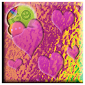 Playful Hearts GO SMS Pro Don8 icon