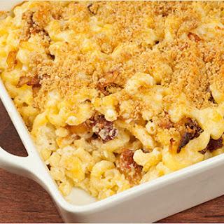 Bacon-Onion Macaroni and Cheese Recipe