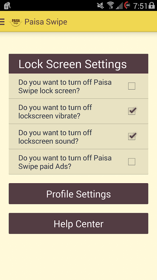 Paisa Swipe- screenshot
