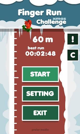 Christmas Finger Run