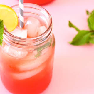 Watermelon Mint Lemonade.