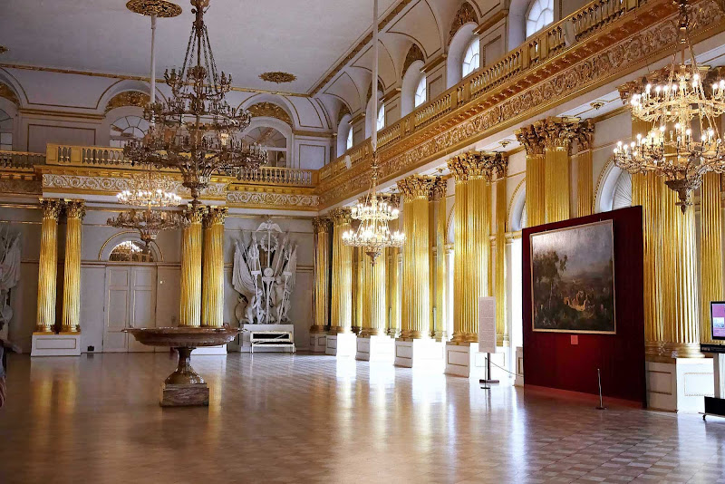 Take a tour of the magnificent Hermitage Museum during your shore excursion in St. Petersburg.
