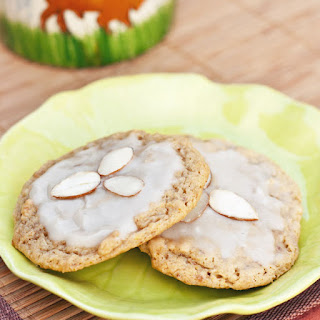 Almond Orange Anytime Cookies