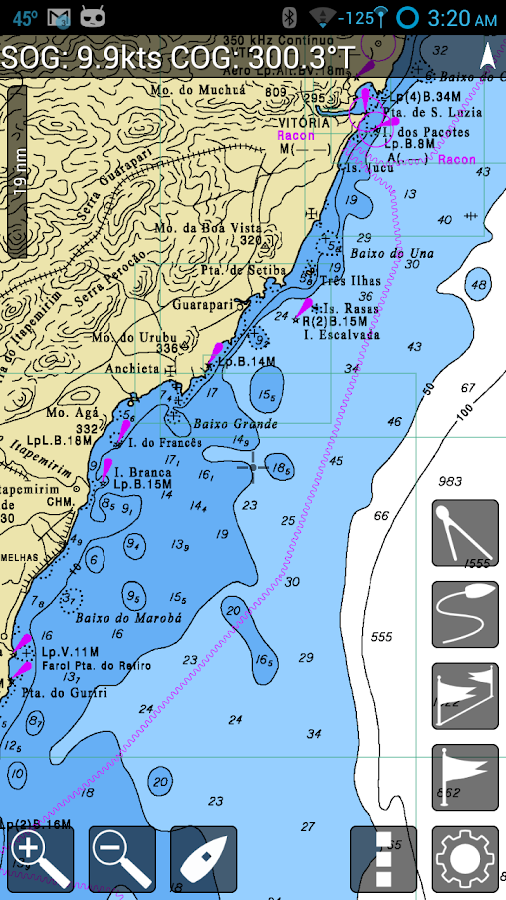 MX Mariner - Marine Charts - screenshot