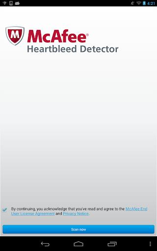 【免費工具App】McAfee Heartbleed Detector-APP點子