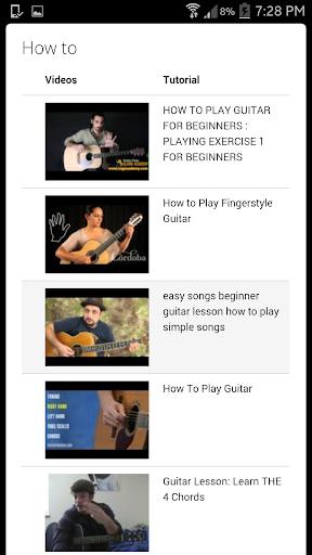 【免費生活App】如何彈吉他-APP點子
