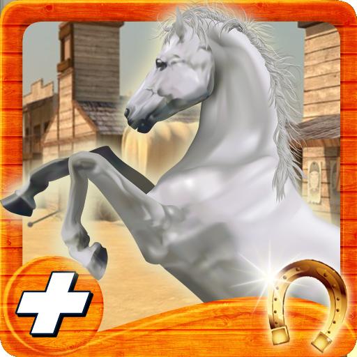 賽車遊戲App|野生の西の馬ライフランナー3D LOGO-3C達人阿輝的APP