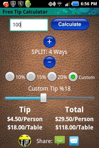 Free Tip Calculator