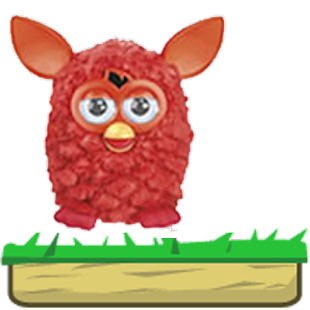 Furby Jump Red