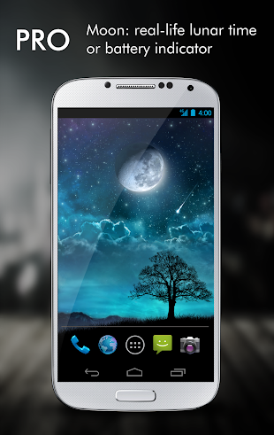 Dream Night Pro Live Wallpaper- screenshot thumbnail