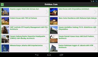 Screenshot of Desain Rumah dan Arsitektur
