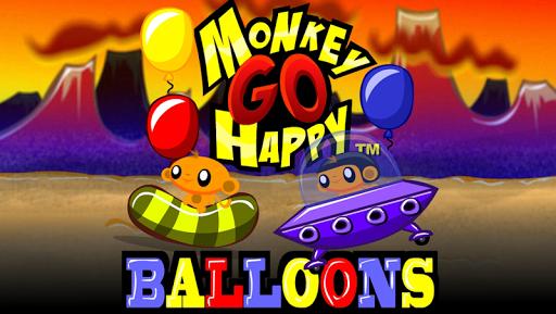 Monkey GO Happy Balloons FREE