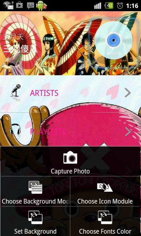 Chameleon Player(Lite version)- screenshot