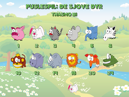 Funny animal puzzle HD Full- screenshot thumbnail